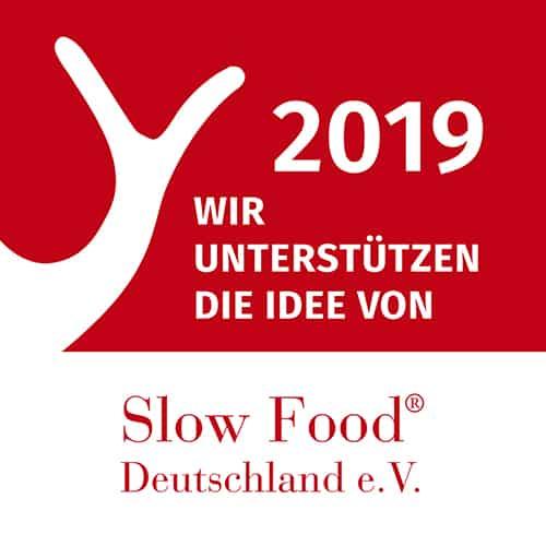 Logo Unterstützer Slow Food Deutschland
