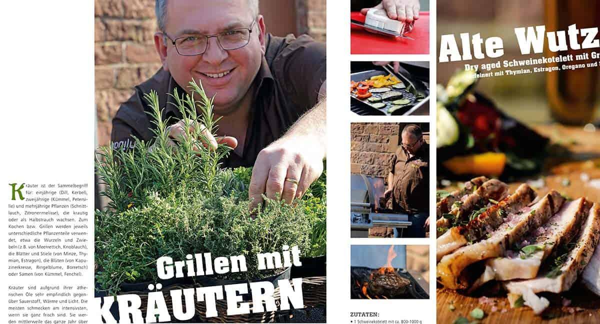 Fire & Food – Grillen mit Kräuter