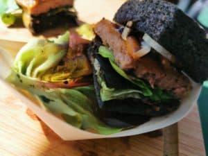 Baden-BBQ Schwarzer Burger