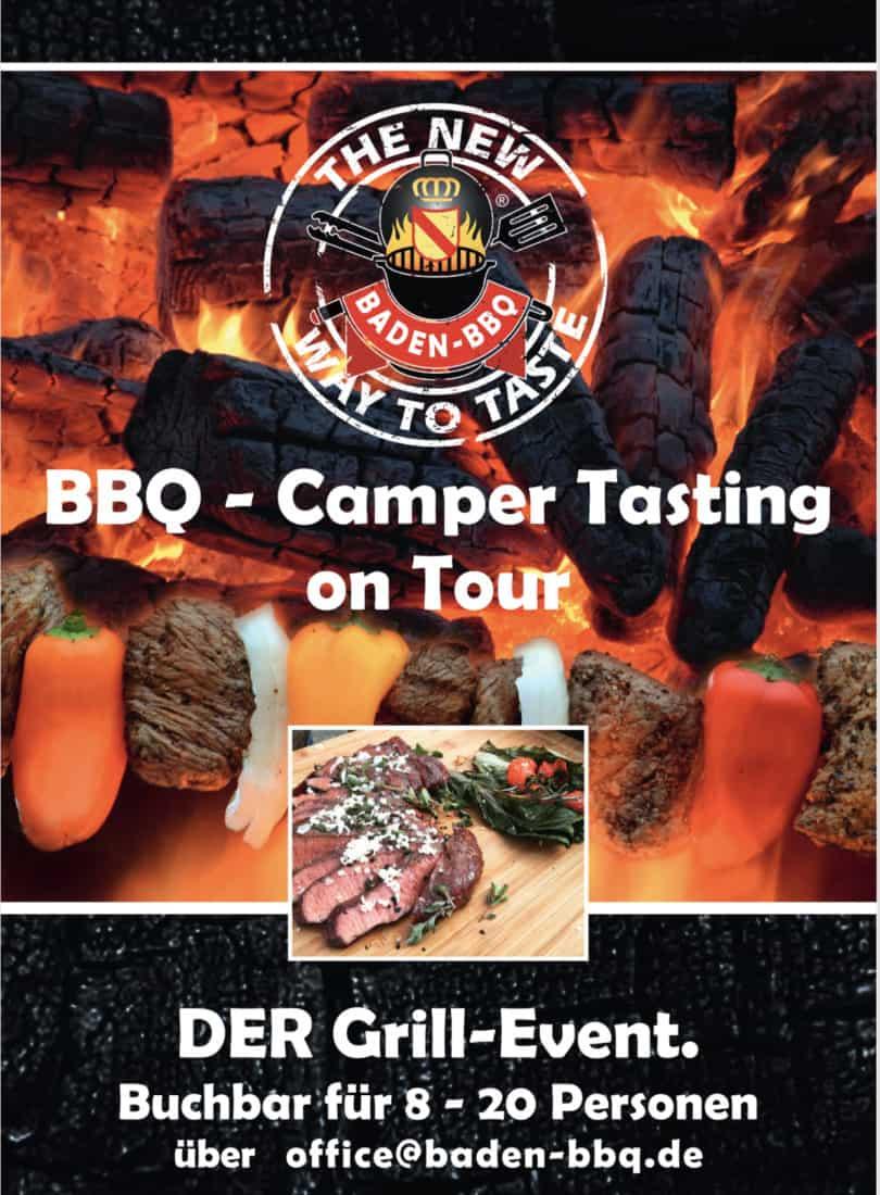 BBQ Camper Tasting on Tour